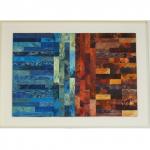 kleurencompositie-73x53cm- papier-karton-acryl-olie-inkt op hout